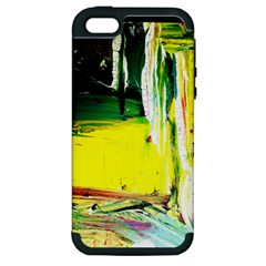 Poppies In An Abandoned Yard 10 Apple Iphone 5 Hardshell Case (pc+silicone) by bestdesignintheworld