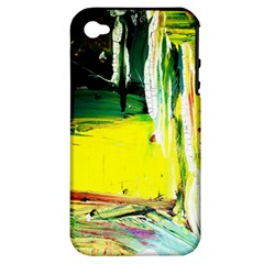 Poppies In An Abandoned Yard 10 Apple Iphone 4/4s Hardshell Case (pc+silicone) by bestdesignintheworld