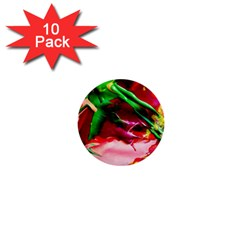 Red Cross 4 1  Mini Buttons (10 Pack)  by bestdesignintheworld