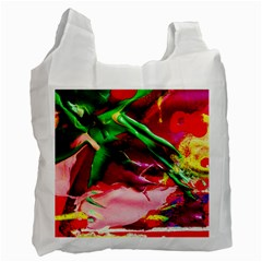 Red Cross 4 Recycle Bag (two Side)  by bestdesignintheworld