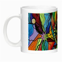 Spiritual Guide - Glow In The Dark Mug by tealswan