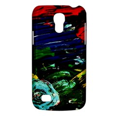 Tumble Weed And Blue Rose Galaxy S4 Mini by bestdesignintheworld