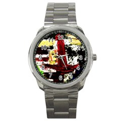 Collosium   Swards And Helmets 8 Sport Metal Watch by bestdesignintheworld