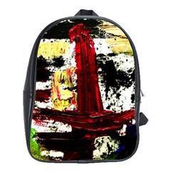 Collosium   Swards And Helmets 8 School Bag (large) by bestdesignintheworld