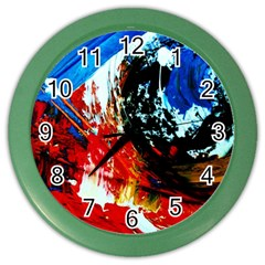 Mixed Feelings 4 Color Wall Clocks by bestdesignintheworld