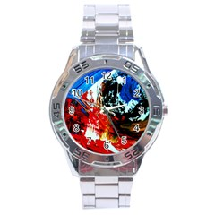 Mixed Feelings 4 Stainless Steel Analogue Watch by bestdesignintheworld