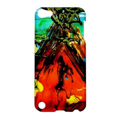 Camping 5 Apple Ipod Touch 5 Hardshell Case by bestdesignintheworld