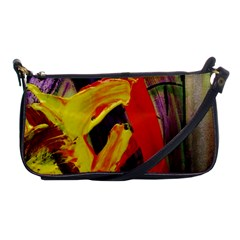 Fish And Bread1/2 Shoulder Clutch Bags by bestdesignintheworld