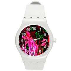 Indo China 3 Round Plastic Sport Watch (m) by bestdesignintheworld