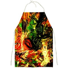 Sunset In A Desert Of Mexico Full Print Aprons by bestdesignintheworld