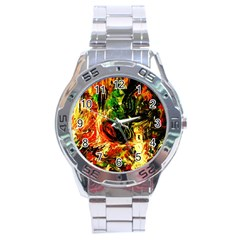 Sunset In A Desert Of Mexico Stainless Steel Analogue Watch by bestdesignintheworld