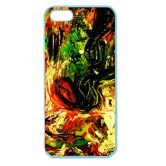 Sunset In A Desert Of Mexico Apple Seamless Iphone 5 Case (color) by bestdesignintheworld
