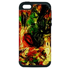Sunset In A Desert Of Mexico Apple Iphone 5 Hardshell Case (pc+silicone) by bestdesignintheworld