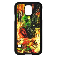 Sunset In A Desert Of Mexico Samsung Galaxy S5 Case (black) by bestdesignintheworld
