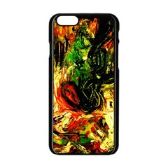 Sunset In A Desert Of Mexico Apple Iphone 6/6s Black Enamel Case by bestdesignintheworld