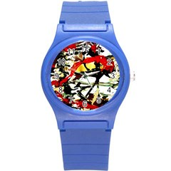 Ireland1/1 Round Plastic Sport Watch (s) by bestdesignintheworld