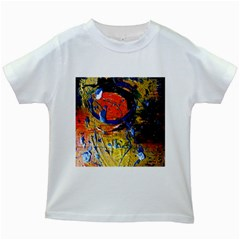 Lunar Eclipse 6 Kids White T-shirts by bestdesignintheworld