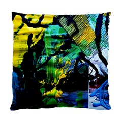 Rumba On A Chad Lake 10 Standard Cushion Case (one Side) by bestdesignintheworld