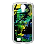 Rumba On A Chad Lake 10 Samsung GALAXY S4 I9500/ I9505 Case (White) Front
