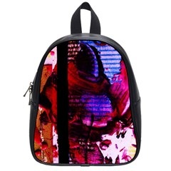 Absurd Theater In And Out 4 School Bag (small) by bestdesignintheworld
