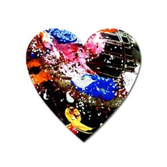 Smashed Butterfly 5 Heart Magnet by bestdesignintheworld