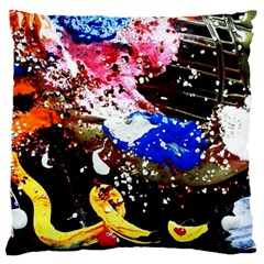 Smashed Butterfly 5 Standard Flano Cushion Case (two Sides) by bestdesignintheworld