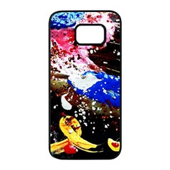 Smashed Butterfly 5 Samsung Galaxy S7 Edge Black Seamless Case by bestdesignintheworld