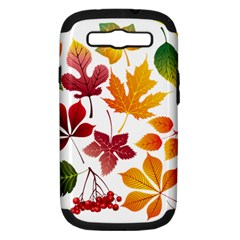 Beautiful Autumn Leaves Vector Samsung Galaxy S Iii Hardshell Case (pc+silicone) by Nexatart
