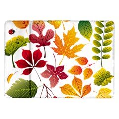 Beautiful Autumn Leaves Vector Samsung Galaxy Tab 10 1  P7500 Flip Case by Nexatart