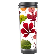 Beautiful Autumn Leaves Vector Travel Tumbler
