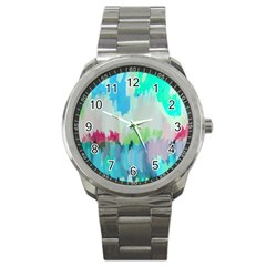 Abstract Background Sport Metal Watch by Modern2018