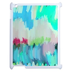 Abstract Background Apple Ipad 2 Case (white)