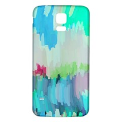 Abstract Background Samsung Galaxy S5 Back Case (white) by Modern2018