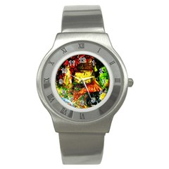 St Barbara Resort Stainless Steel Watch by bestdesignintheworld