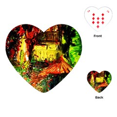 St Barbara Resort Playing Cards (heart)  by bestdesignintheworld