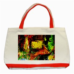 St Barbara Resort Classic Tote Bag (red) by bestdesignintheworld