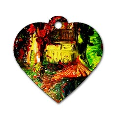 St Barbara Resort Dog Tag Heart (one Side) by bestdesignintheworld