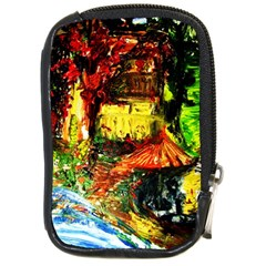 St Barbara Resort Compact Camera Cases by bestdesignintheworld