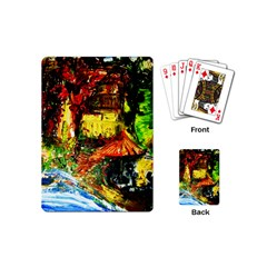 St Barbara Resort Playing Cards (mini)  by bestdesignintheworld