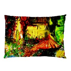 St Barbara Resort Pillow Case (two Sides) by bestdesignintheworld