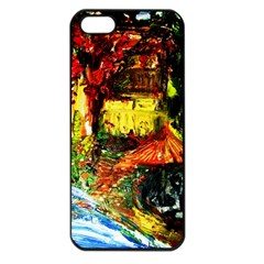 St Barbara Resort Apple Iphone 5 Seamless Case (black) by bestdesignintheworld