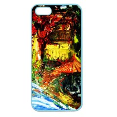St Barbara Resort Apple Seamless Iphone 5 Case (color) by bestdesignintheworld