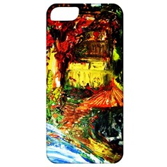 St Barbara Resort Apple Iphone 5 Classic Hardshell Case by bestdesignintheworld