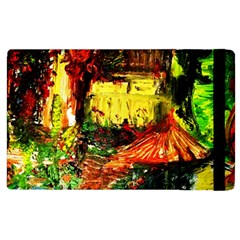 St Barbara Resort Apple Ipad 2 Flip Case by bestdesignintheworld