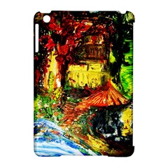 St Barbara Resort Apple Ipad Mini Hardshell Case (compatible With Smart Cover) by bestdesignintheworld