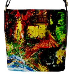 St Barbara Resort Flap Messenger Bag (s) by bestdesignintheworld