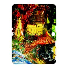 St Barbara Resort Samsung Galaxy Tab 4 (10 1 ) Hardshell Case  by bestdesignintheworld