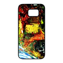 St Barbara Resort Samsung Galaxy S7 Edge Black Seamless Case by bestdesignintheworld