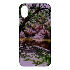 Old Tree 6 Apple Iphone X Hardshell Case by bestdesignintheworld