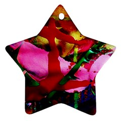 Red Cross 6 Star Ornament (two Sides) by bestdesignintheworld